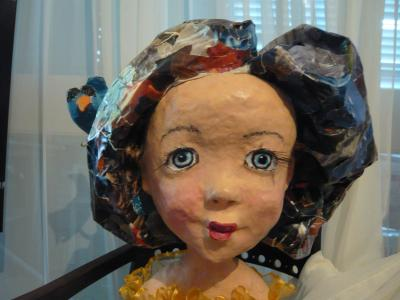 """head of a doll (she has a body' too}"" by Tiva Noff"