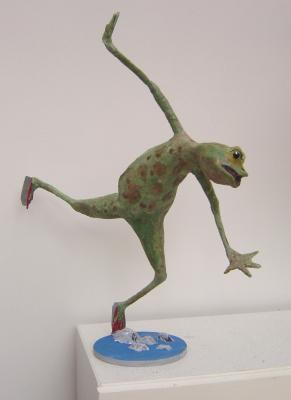 """Skating frog"" by David Osborne"